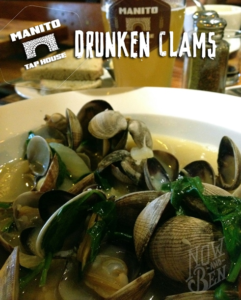 Manito Tap House Drunken Clams