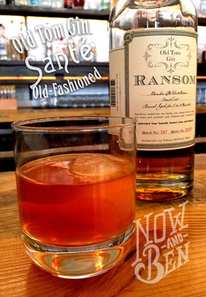 Gin Old Fashioned Sante