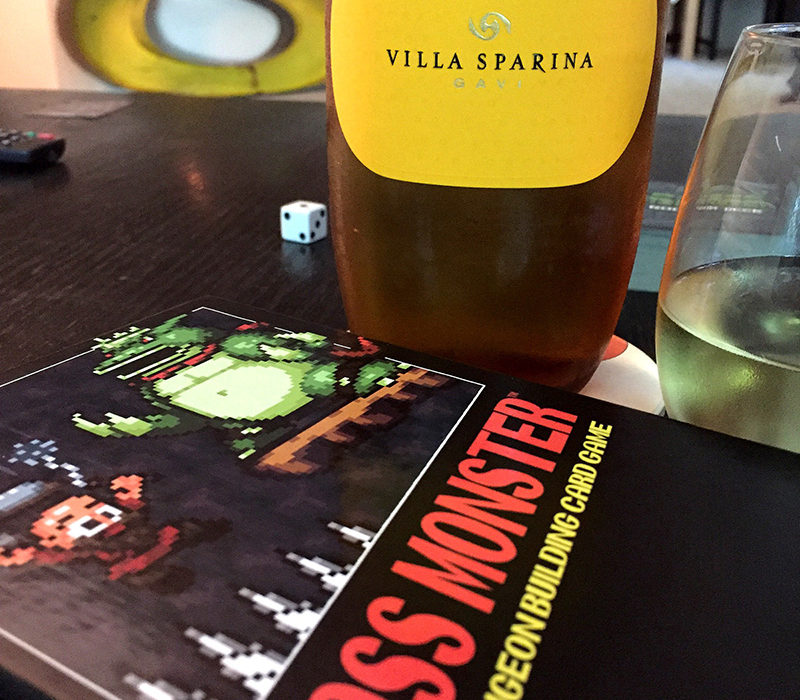 Boss Monster and Villa Sparina Gavi
