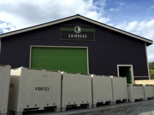 Cairdeas Winery Cellar