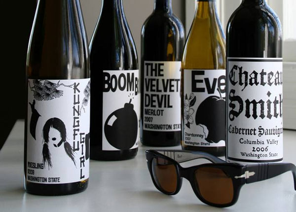 Charles Smith Wine Labels